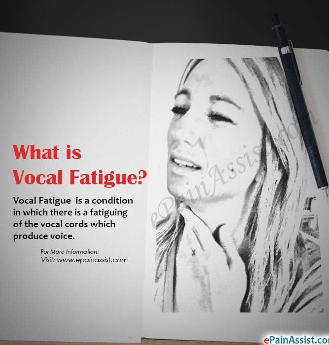 What Causes Vocal Fatigue?