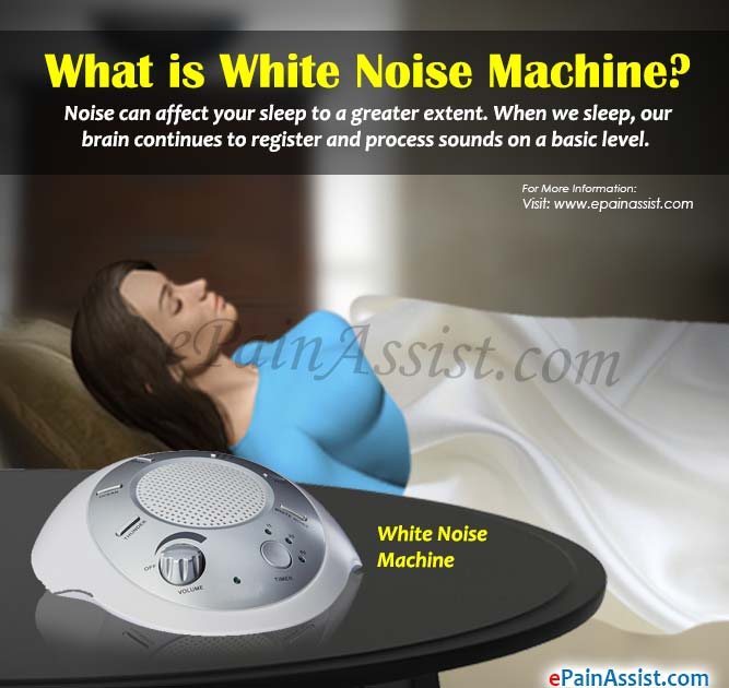 Better Sleep White Noise Sound Machine For Adults And: What Is White Noise & How Does White Noise Machine Help