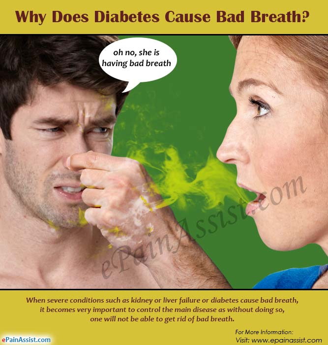 Why Does Diabetes Cause Bad Breath?