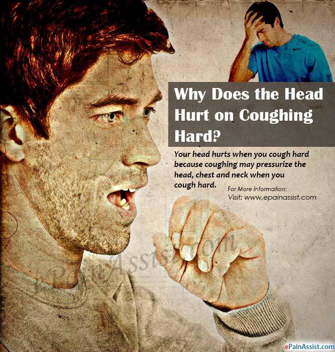 Why Does the Head Hurt on Coughing Hard?