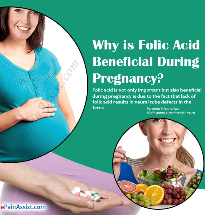 Why is Folic Acid Beneficial During Pregnancy?