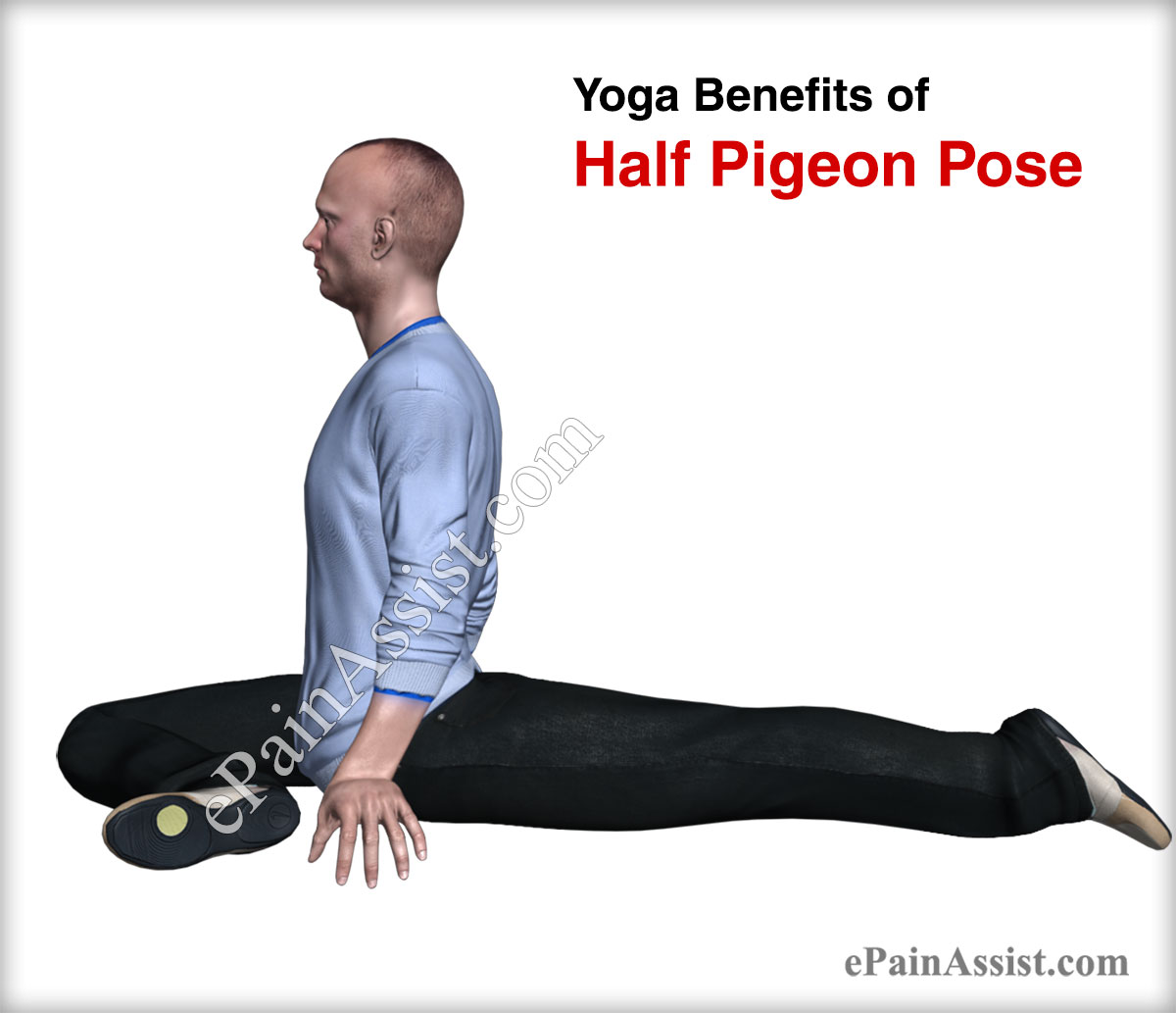 Yoga Benefits of Half Pigeon Pose for Men