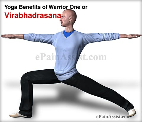 Yoga Benefits of Warrior One or Virabhadrasana for Men