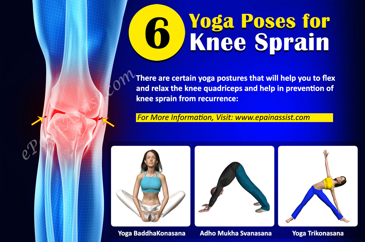 Yoga for Knee Sprain